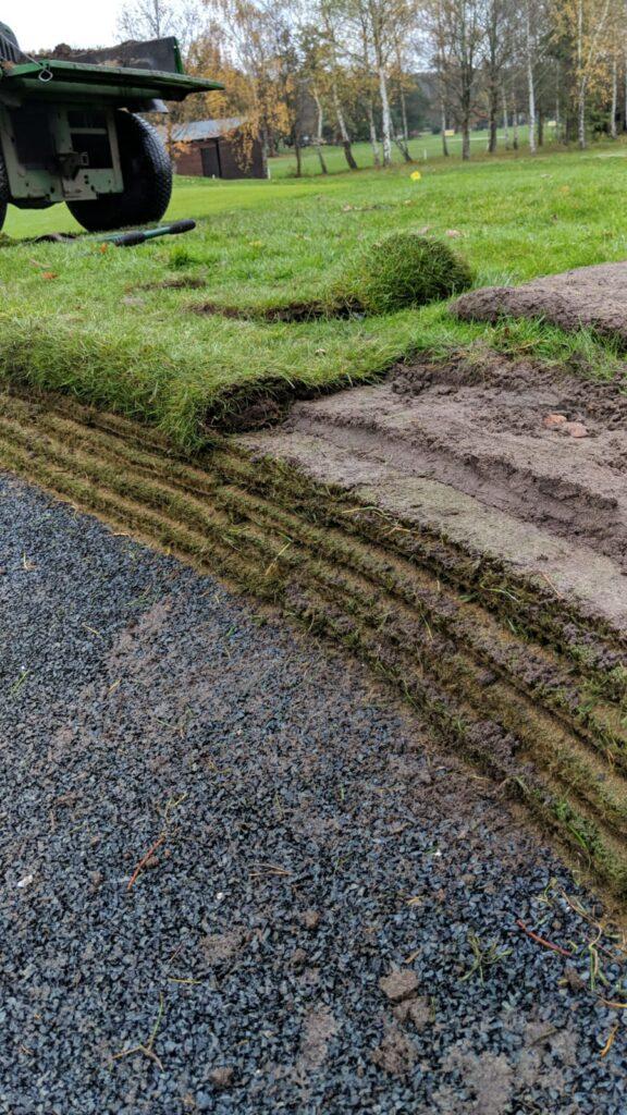 Richmond Edge Rolled Turf Edge