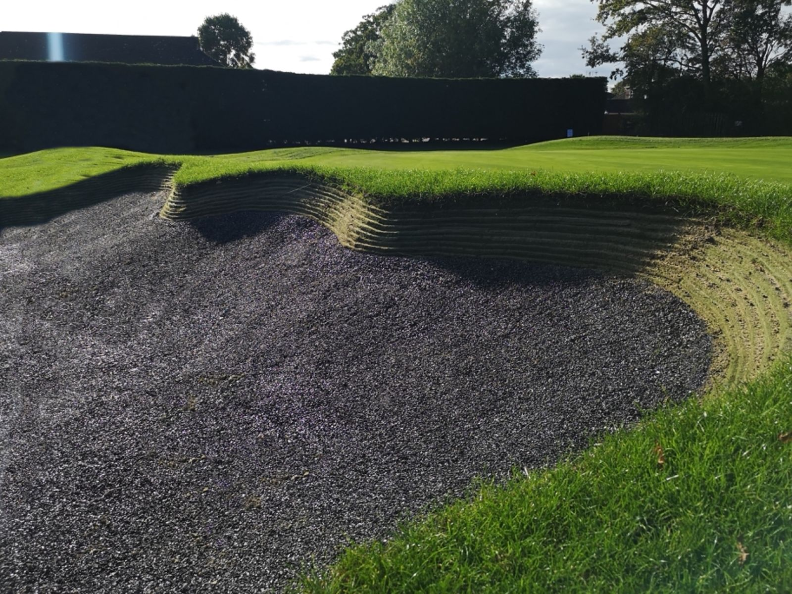Rubber Crumb and Durabunker at Waterlooville GC